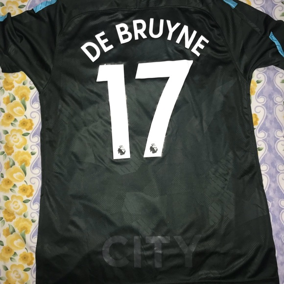 factory price ecfa7 d18e5 2018 Manchester City third kit Kevin De Bruyne NWT